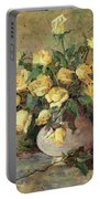 Yellow Roses Portable Battery Charger