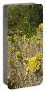 Yellow Sage Flower Portable Battery Charger