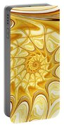 Yellow Shell Portable Battery Charger