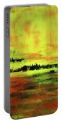 Yellow Sienna Black Portable Battery Charger