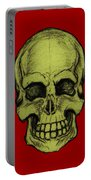 Yellow Skull Portable Battery Charger