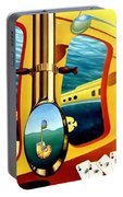 Yellow Submarine Portable Battery Charger