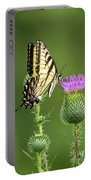 Yellow Swallow Tail Portable Battery Charger