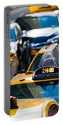 Yellow Taxis Portable Battery Charger