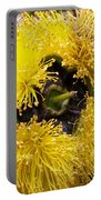 Yellow Tree Flower Portable Battery Charger