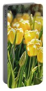 Yellow Tulip Panoramic Portable Battery Charger
