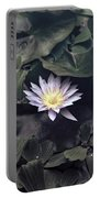 Yellow Water Lily Portable Battery Charger