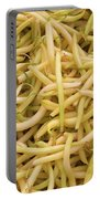 Yellow Wax Beans Portable Battery Charger