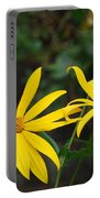 Yellow Wild Flower Portable Battery Charger