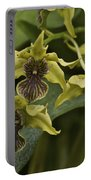 Yellowish Orchids Portable Battery Charger
