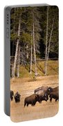 Yellowstone Bison Portable Battery Charger