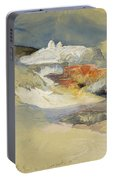 Yellowstone, Hot Springs, July 21, 1892 Portable Battery Charger