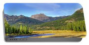 Yellowstone National Park Landscape Portable Battery Charger