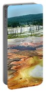 Yellowstone Park Firehole Spring Area Vertical 02 Portable Battery Charger