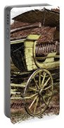 Yellowstone Park Stage Coach With Horses Pa 01 Portable Battery Charger