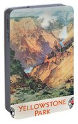 Yellowstone Park Portable Battery Charger