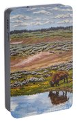 Yellowstone Reflections Portable Battery Charger by Erin Fickert-Rowland