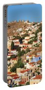 Yialos Town On Symi Island Portable Battery Charger