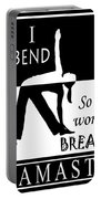 Yoga - Bend So You Won't Break Portable Battery Charger
