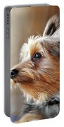 Yorkshire Terrier Dog Pose #5 Portable Battery Charger