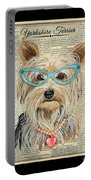Yorkshire Terrier-jp3856 Portable Battery Charger