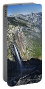 Yosemite Falls And Valley From Eagle Tower Detail - Yosemite Portable Battery Charger