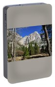 Yosemite Falls Through The Trees Portable Battery Charger