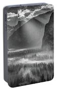 Yosemite Morning Sun Rays Portable Battery Charger