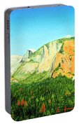 Yosemite National Park Portable Battery Charger by Jerome Stumphauzer