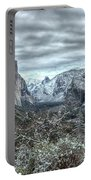 Yosemite National Park Tunnel View  Portable Battery Charger