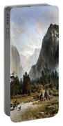 Yosemite Valley, C1860 Portable Battery Charger