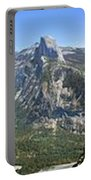 Yosemite Valley Panorama From Union And Glacier Points Portable Battery Charger