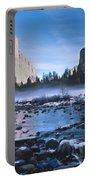 Yosemite Valley Winter Portable Battery Charger