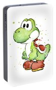 Yoshi Watercolor Portable Battery Charger