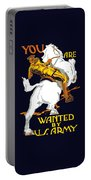 You Are Wanted By Us Army Portable Battery Charger