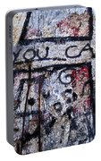 You Can - Berlin Wall  Portable Battery Charger