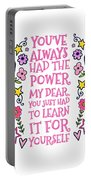 You Have Always Had The Power Portable Battery Charger