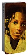 Dreadlocks And Beads Portable Battery Charger