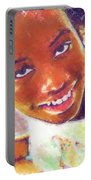 Young Black Female Teen 5 Portable Battery Charger