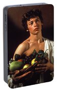 young boy Caravaggio Portable Battery Charger
