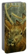 Young Elk Trio- Wapiti Portable Battery Charger
