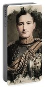 Young Faces From The Past Series By Adam Asar, No 8 Portable Battery Charger