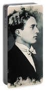 Young Faces From The Past Series By Adam Asar, No 95 Portable Battery Charger