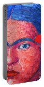 Young Frida Kahlo Portable Battery Charger
