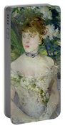 Young Girl In A Ball Gown Portable Battery Charger