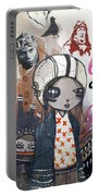 Young Girl Portable Battery Charger