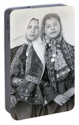 Young Girls Of Bethlehem Year 1896 Portable Battery Charger