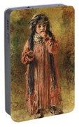 Young Gypsy By Konstantin Makovsky Portable Battery Charger