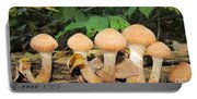 Young Honey Mushrooms Portable Battery Charger