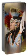 Pow Wow Young Man Portable Battery Charger